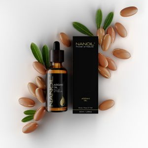 mini nanoil argan oil for hair kernels
